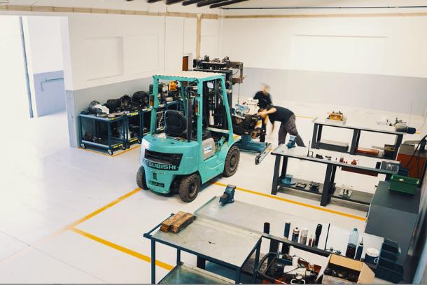 Driveline: oficina de reparações de pesados